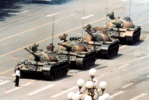the_most_affecting_iconic_photographs_640_29The iconic photo of Tank Man, the unknown rebel who stood in front of a column of Chinese tanks in an act of defiance following the Tiananmen Square protests of 1989.
