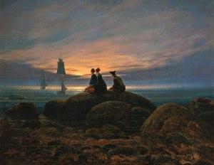 Răsărit de lună pe mare- Casăar David Friedrich
