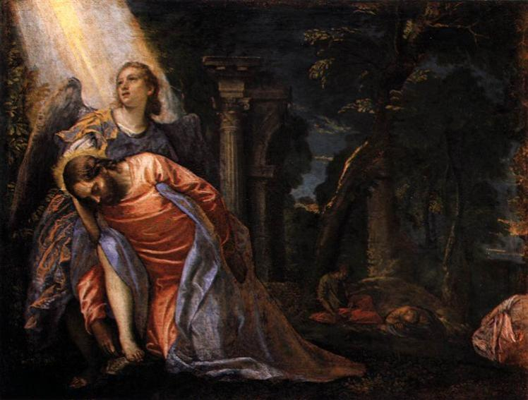 christ-in-the-garden-of-gethsemane-veronese wikiart.org