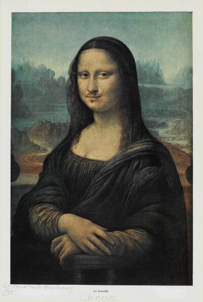 L H O O Q Duchamp