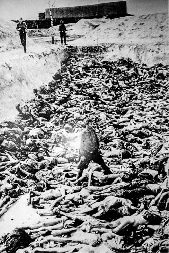 """""""Dachau Concentration Camp mass grave"""""""