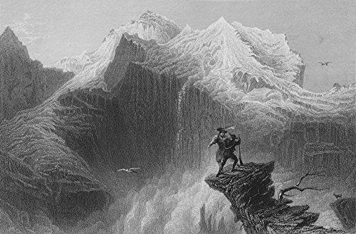 Manfred on the JungfrauWilliam Henry Bartlett1836